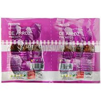 Eroski Morcilla de arroz pincho 550 g