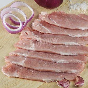Carrefour Jamón de cerdo fileteado Bandeja de 450.0 g.