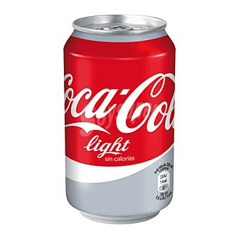 Coca-Cola Refresco de cola light Lata 33 cl