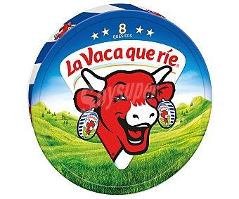La Vaca que ríe Queso fundido 8 porciones Caja 125 g