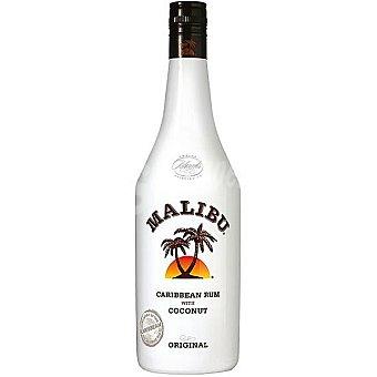 Malibu Ron caribeño de coco Botella 1 l