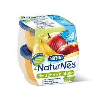 Naturnes Nestlé Manzana platano 2X130GR