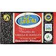 Filetes de caballa de Andalucía en aceite de oliva elaboracion artesanal lata 81 g neto escurrido lata 81 g neto escurrido LA TARIFEÑA
