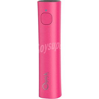 G029P26P1 Batería externa PB26 para dispositivos portátiles con micro USB color rosa