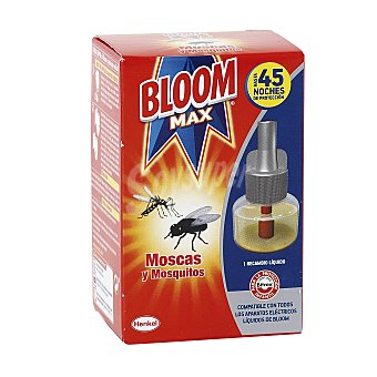 Bloom Max insecticida eléctrico antimosquitos recambio 1 ud