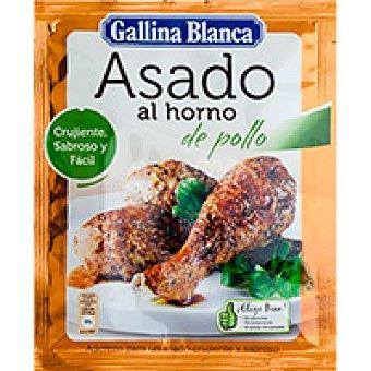 Gallina Blanca Asado Al Horno De Pollo Gb Sobre 32 g