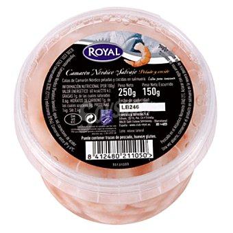 ROYAL Camarón nórdico salvaje pelado y cocido 150 gramos
