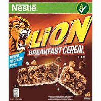 Nestlé Barritas de cereales Lion Caja 150 g