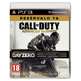 PS3 Videojuego Call Of Duty: Advanced Warfare Edición Day Zero  1 unidad