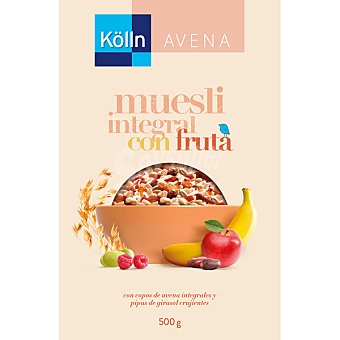 Kolln Muesli integral con frutas paquete 375 g Paquete 375 g