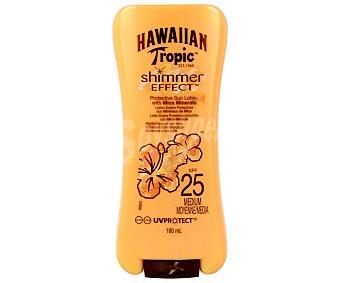 Hawaiian Tropic Protector solar con efecto brillo y factor protección 25 (medio) 180 mililitros