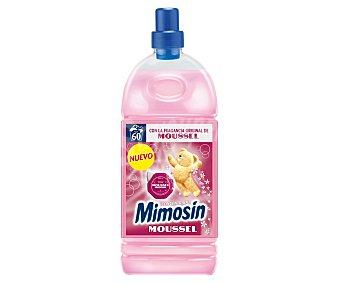Mimosín Suavizante concentrado para la ropa con la fragancia original de Moussel 60 lavados