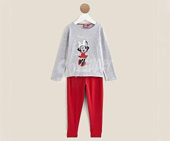 Minnie Disney Pijama para niña Mouse, talla 5 talla 5 talla 5.