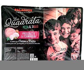 QUADRATTA de PALACIOS Pizza Prosciuto 550 Gramos