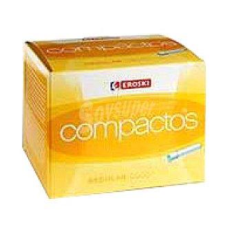 Eroski Tampón compacto multipack Caja 36 unid