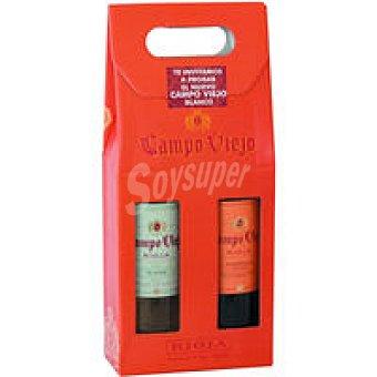 Campo Viejo Vino Rioja Tinto Reserva + Blanco pack 2x75 cl