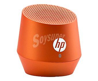 HP S6000 Mini altavoz portátil Naranja, 1,2w, conexión Bluetooth, batería con autonomía hasta 8 horas,