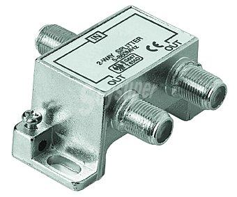 Qilive Distribuidor de señal de antena de 1 entrada a 2 salidas