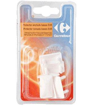 Carrefour Protector de enchufe de plástico 1 unidad