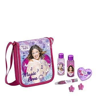 Violetta Bandolera corazon gel-champú + loción corporal + cosmetica 1 ud