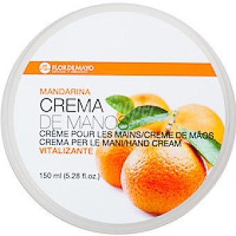 Flor de Mayo Crema de manos de mandarina Tarro 150 ml