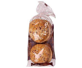 Dulcesol Pan maxi para hamburguesa con cereales y semillas Pack de 4 uds