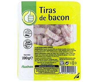 Productos Económicos Alcampo Cintas de bacon ahumado 200 gramos