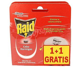Raid Cebo para hormigas Pack 2 unid