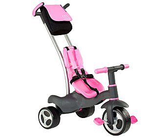 MOLTO Triciclo Evolutivo Urban Trike de Color Rosa 1 Unidad