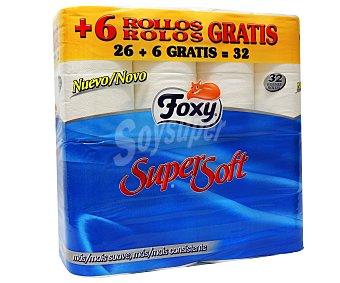 Foxy Papel Higienico Super Soft Foxy 32 ud