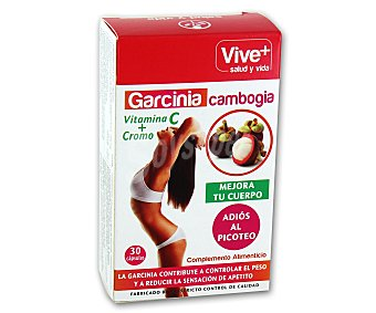 Viveplus Complemento nutricional a base de garcinia cambogia 30 cápsulas 15,30 gramos