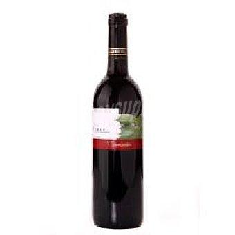 COMISATI Vino Tinto Joven Rioja Viñedo Ecológico Botella 75 cl