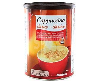 Auchan Café cappuccino clásico suave y cremoso 252 gr