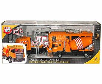 Rik&Rok Auchan Vehículos de Construcción a Escala 1:32 1 Unidad