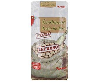 Auchan Garbanzo lechoso extra Paquete de 1 kilogramo