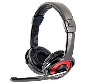 Ngs Auriculares tipo Diadema VOX 600 USB con cable y micrófono