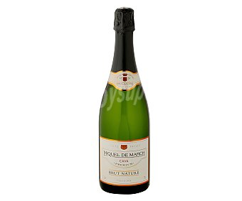 Miquel de march Cava brut nature Botella de 75 centilitros