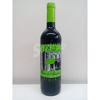 PALACIO DE ALCANTARA vino tinto PA 40  botella 75 cl