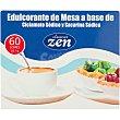 Cleaner Zen edulcorante de mesa a base de ciclamato y sacarina sódica 60 sobres de 1 g caja 60 g 60 sobres de 1 g Huxol