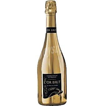 L'OR vino espumoso chardonnay Borgoña Francia  botella 75 cl