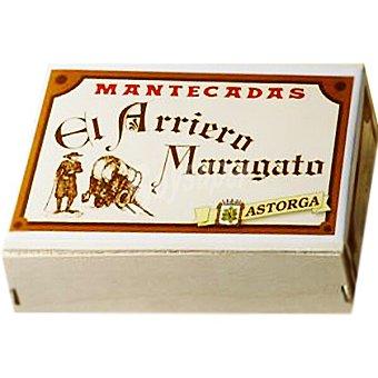 El arriero Mantecadas de Astorga 12 unidades maragato Estuche 300 g