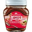 Crock crema de cacao con trocitos de avellana sin aceite de palma  tarro 350 g Amor