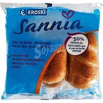 Eroski Sannia Pan De Leche 6u (240g)
