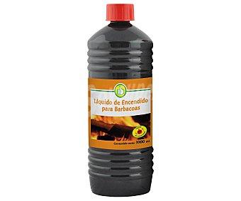 Productos Económicos Alcampo Líquido (queroseno Hidrogenado) para encendido de fuego, especial barbacoas 1 litro