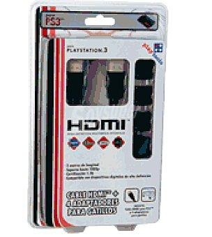 Sony PS3 cable hdmi+gatillo mando play