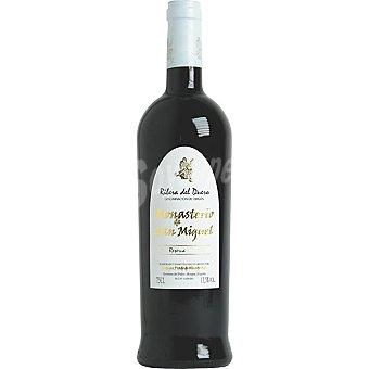 Monasterio San Miguel Vino tinto reserva Botella 75 cl