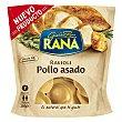 Raviolis frescos rellenos de riquísima carne de pollo asado 250 g Rana