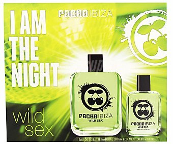 Pacha Ibiza Wild Sex Estuche para hombre colonia 100 mililitros + 30 ml