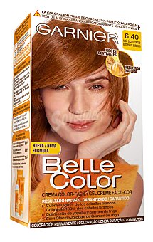 Belle Color Garnier 6.4 Rubio Oscuro Cobrizo - Coloración permanente - 1 pack