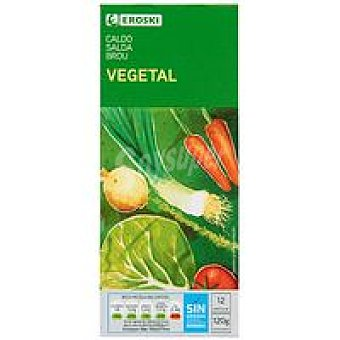 Eroski Caldo vegetal 12 pastillas